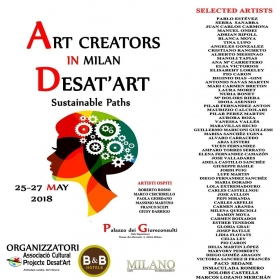 Evento ART CREATORS IN MILAN. SUSTAINABLE PATHS - ETHICANDO Association