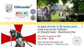 01.13.2017 - A GALA DINNER IN BRIANZA WITH ...? - ETHICANDO Association